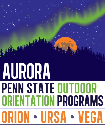 Penn State Outdoor Aurora programs logo