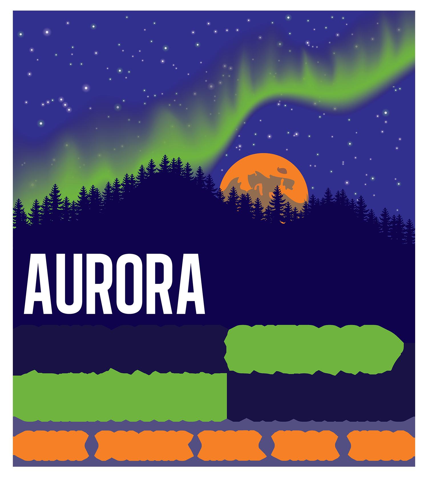 Penn State Outdoor Aurora programs logo